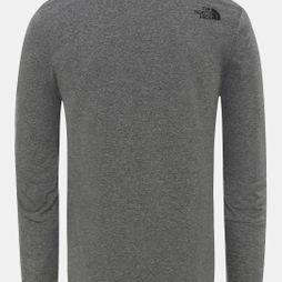 Mens Long Sleeve Simple Dome T-Shirt