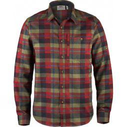 Fjallraven Mens Fjällglim Shirt Deep Red