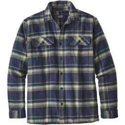 Mens Long-Sleeved Fjord Flannel Shirt