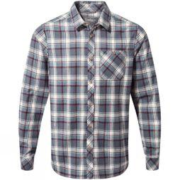 Craghoppers Mens Harris Long Sleeve Shirt Ombre Blue Check