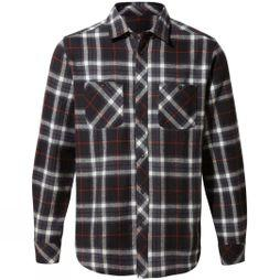 Craghoppers Riffelalp Long Sleeved Shirt Black Pepper Check
