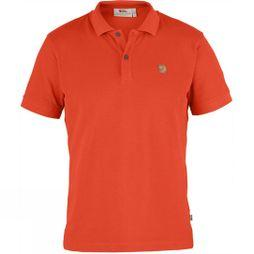 Fjallraven Mens Övik Polo Shirt Flame Orange
