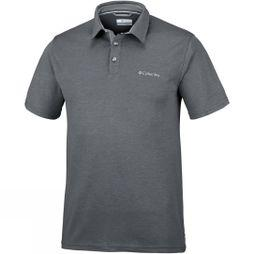 Columbia Mens Nelson Point Polo Shark