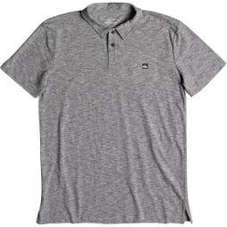Quiksilver Mens Sky Break Polo Shirt Medium Grey Heather