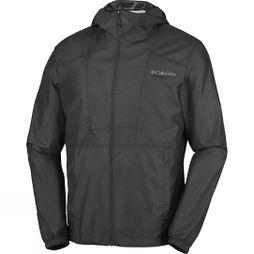 Columbia Mens Flashback Windbreaker Black / Black