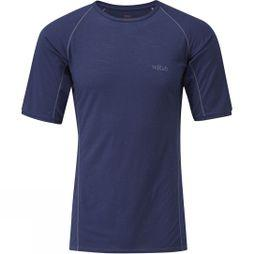 Rab Mens Merino+ 120 Short Sleeve Tee Twilight