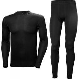 Helly Hansen Mens HH Comfort Light Set Black