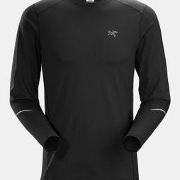 Arc'teryx Mens Motus Crew Long Sleeve Black