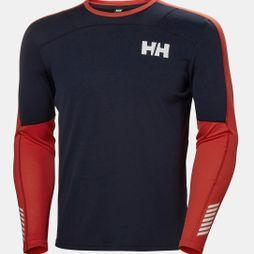 Helly Hansen Mens Lifa Active Long Sleeve Top Navy