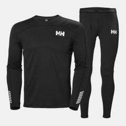 Helly Hansen Mens Lifa Active Set Black