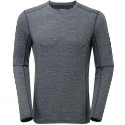 Montane Mens Primino 140 Long Sleeve T-Shirt Black