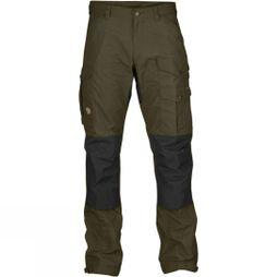 Fjallraven Mens Vidda Pro Trousers Dark Olive/Black