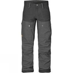 Fjallraven Mens Keb Trousers Black/Dark Grey