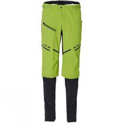 Vaude Mens Virt Softshell Pants II Chute Green