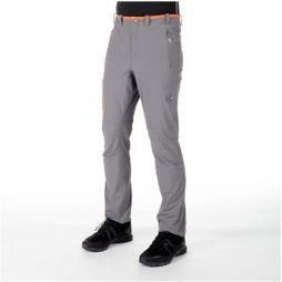 Mammut Mens Runbold Trail SO Pant Titanium-Dark Orange