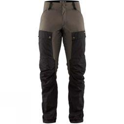 Fjallraven Mens Keb Trousers Black/Stone Grey