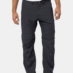 Jack Wolfskin Mens Canyon Zip Off Pants Phantom