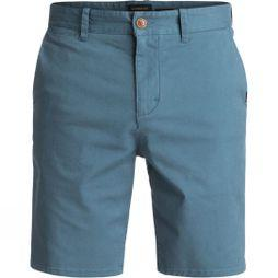 Quiksilver Mens Krandy St Chino Shorts Real Teal