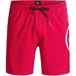 Quiksilver Mens Sideways Volley 17 Quik Red