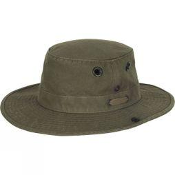 "Tilley Men's Medium Brim ""The Tilley Wanderer"" Hat Olive"
