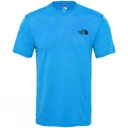 The North Face Men Reaxion Amp Crew T-Shirt Bomber Blue Heather