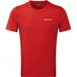 Montane Mens Dart T-Shirt Alpine Red