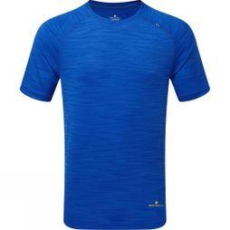 Ronhill Mens Infinity Air-Dry T-Shirt  Azurite Marl
