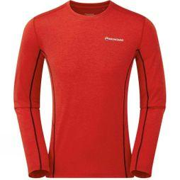 Montane Men's Dart Long Sleeve T-Shirt Alpine Red
