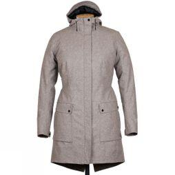 Womens Laminated Wool Insulated Parka