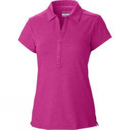 Columbia Women's Shadow Time Polo Haute Pink