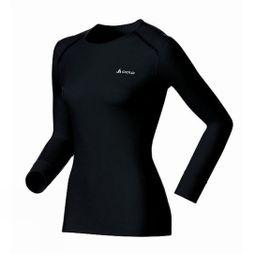 Odlo Womens Original Warm Long Sleeve Crew Black