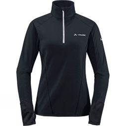 Vaude Womens Livigno Half Zip Black