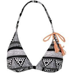 Roxy Womens Native Geo Bikini Top Native Geo Combo True Black