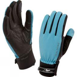 SealSkinz Womens All Season Glove Sky Blue / Black