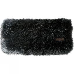 Barts Womens Fur Headband Black