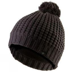 SealSkinz Waterproof Waffle Knit Bobble Hat Grey