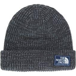 The North Face Mens Salty Dog Beanie Graphite Grey/ Mid Grey