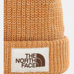The North Face Mens Salty Dog Beanie Cedar Brown/Twill Beige
