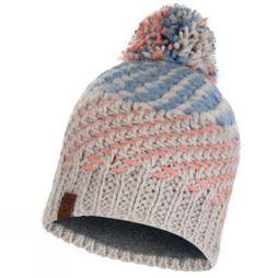 Buff Mens Nella Knitted and Polar Fleece Hat Multi