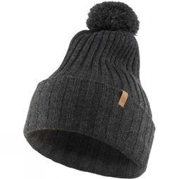 Fjallraven Byron Pom Pom Hat Dark Grey
