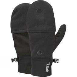Rab Mens Windbloc Convertible Mitt Black