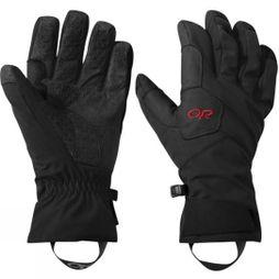 Outdoor Research Men's Bitterblaze Aerogel Gloves Black/Tomato