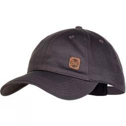Buff Baseball Cap Solid Pewter Grey