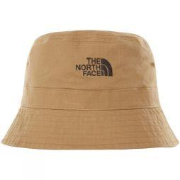 The North Face Mens Cotton Bucket Hat Kelp Tan