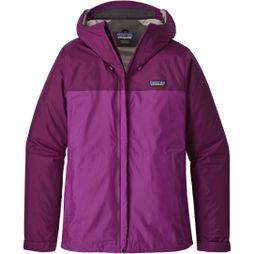 Patagonia Womens Torrentshell Jacket Geode Purple