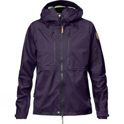 Fjallraven Womens Keb Eco-Shell Jacket Alpine Purple