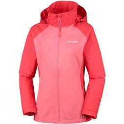 Columbia Womens Tapanga Trail Jacket Coral Bloom, Red Coral