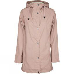 Ilse Jacobsen Womens Rain87 Rain Coat Adobe Rose