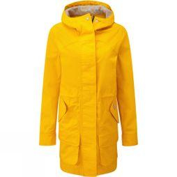 Hunter Womens Original Cotton Hunting Coat Yellow