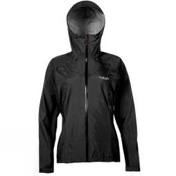 Rab Womens Downpour Plus Jacket Black